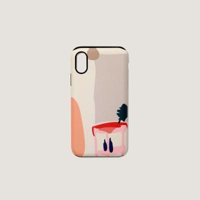 (터프/카드수납) Daily scenery phone case