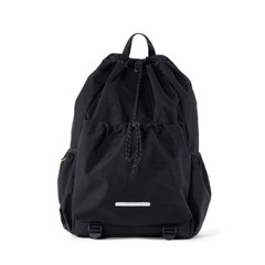 STRING BACKPACK 750 W.NYLON BLACK_(702001)