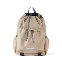 STRING BACKPACK 750 W.NYLON BEIGE_(701999)