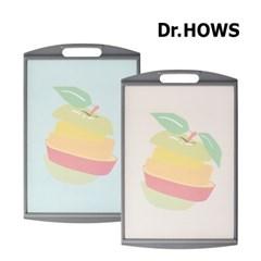 [닥터하우스] 프루츠 항균 양면도마 애플 M_(1229738)