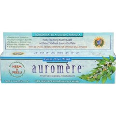 [세븐허브] Auromere 폼프리 치약 + 히말라야 장미 비누