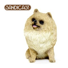 포메라니언 POMERANIAN (SITTING) CREAM SS12002
