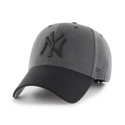 47브랜드 MLB모자 뉴욕 양키즈 그레이블랙챙 투톤 스트럭처