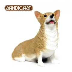 웰시코기 PEMBROKE WELSH CORGI (SITTING) RED SS04102