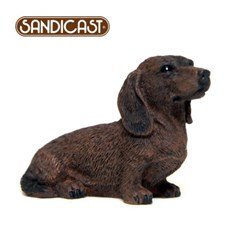 닥스훈트 DACHSHUND (SITTING) RED SS04409