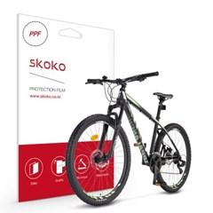 스코코 MTB 로드 자전거 공용 프레임 PPF 보호필름_(832917)