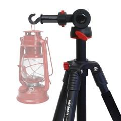 VT-340M 멀티 삼각대+KM-3401E 후크 어댑터 SET (램프 렌턴 카메라)