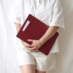 LG 그램 17인치 노트북 파우치 케이스 가방 슬리브 레드 COCOWERK