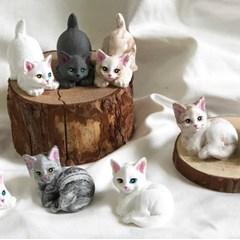 고양이 석고방향제