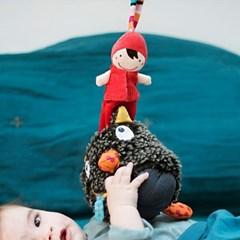 [에불로보] 프랑스 국민 애착인형 울프 룰루 뮤지컬 모자