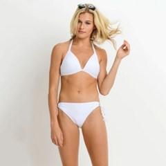 [monob]Solid Tie Bikini Set (AS109-1_WH)_(2053084)