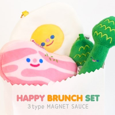 HAPPY BRUNCH SET (베이커니+써니에그+아스파라거스+소스3종)