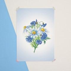 [향기나는 디퓨저 포스터] MONTHLY FLOWER