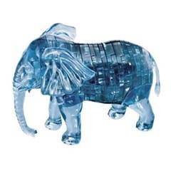 40피스 크리스탈퍼즐 - 코끼리 (블루)