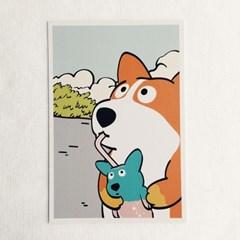 '개사이다' Postcard