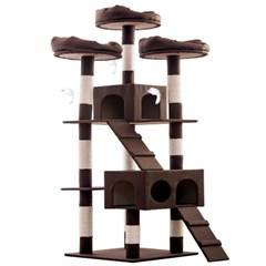 헬로망치 프리미엄 대형 고양이 직조 캣타워 TT8896