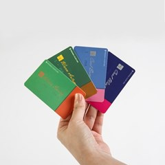 잇컬러카드_휴대용 퍼스널컬러 4계절 카드