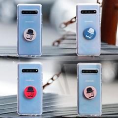 갤럭시노트엣지 (N915) Bien-GentilTok 그립톡 투명 젤리 케이스