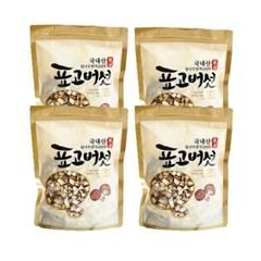 충북 영동 소백산 청결 표고버섯(칩/깍두기) 100g×4개