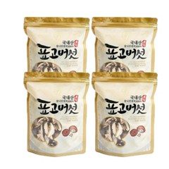 충북 영동 소백산 청결 표고버섯(슬라이스) 80g×4개