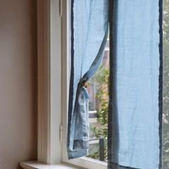마리나 리넨 가리개 커튼(롱바란스) 8color