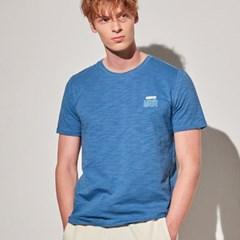 아르고 캘리포니아 반팔 티셔츠 상의 다크블루