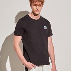 아르고 캘리포니아 반팔 티셔츠 반팔 상의 블랙