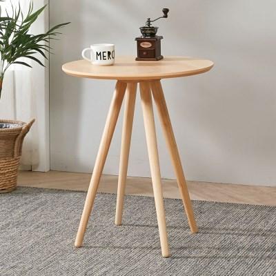 [7월말 예약발송] 브라우니 2-4인 원형 식탁 티테이블 단품