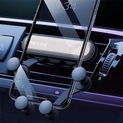 안전한 송풍구 오토피팅 스마트폰 자동 거치대 AC1_(1066017)