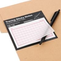Tracing Sticky Notes-Squared(반투명 점착메모지-원고지)