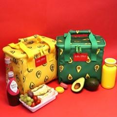[스닐로스티치] 아보카도 보냉피크닉가방
