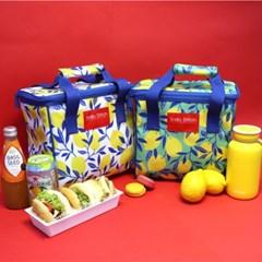 [스닐로스티치] 레몬 보냉피크닉가방