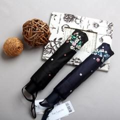 [더로라]기라로쉬 완자 3단 우산 - 가든 플라워 E908