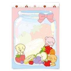 [또자] 과일청 댕댕 메모지