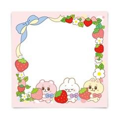 [또자] 딸기 보솜즈 메모지