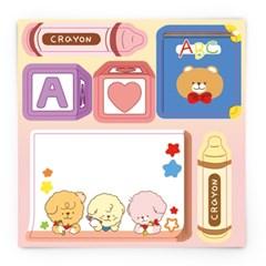 [또자] 장난감 댕댕 도무송 (4장)