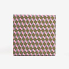 레트로 큐브 포장지(3개)
