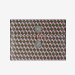 레트로 큐브 단추봉투(M/3개)