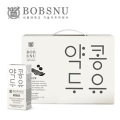 서울대공동개발 약콩두유 190ml x 24팩 국산콩 100%_(1107022)