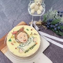 🎉 축하디자인 원형 케이크 1호 (15cm) 🎉
