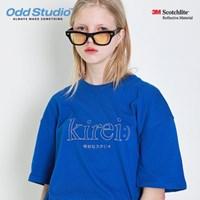 오드스튜디오 키레이 스카치 티셔츠 - BLUE