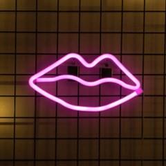 어반LED 네온 Kiss 입술 무드등_(1360437)