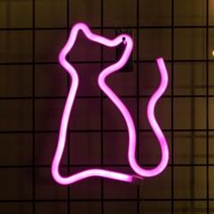 어반LED 네온 고양이 무드등_(1360436)