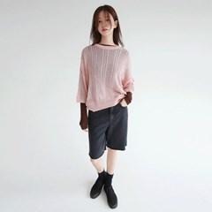 light loose shape knit top (3colors)_(1314083)