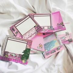 [김문구] 핑크시리즈 메모패드