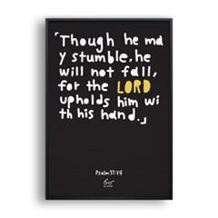 Psalms 37:24 (시편 37편 24장)_black