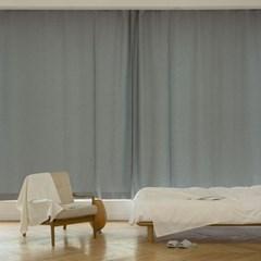 꿀잠을 부르는 암막 커튼 (210x230) 2장 (그레이)