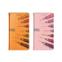 아이폰XS Suk-Colorpen 지갑 다이어리 케이스_(2275778)