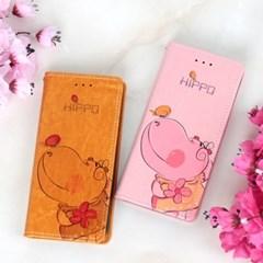 아이폰XS Suk-Hippo 지갑 다이어리 케이스_(2275774)