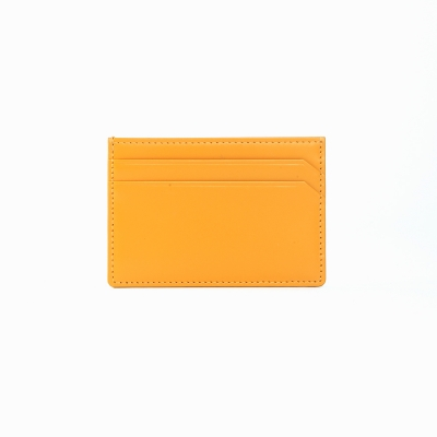 REIMS W021 wide card wallet Yellow